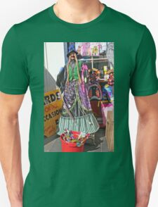 Halloween witch outside a shop T-Shirt