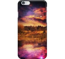 Night Forest and River 4 iPhone Case/Skin