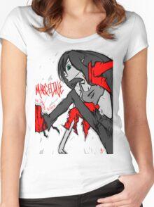 Marceline the vampire Women's Fitted Scoop T-Shirt
