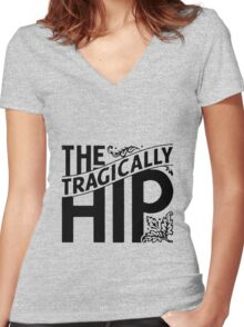 The Tragically Hip Women's Fitted V-Neck T-Shirt