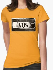 VHS Video Cassette Womens Fitted T-Shirt