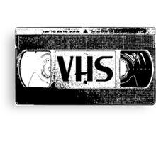VHS Video Cassette Canvas Print