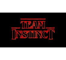 Stranger Team Instinct Photographic Print
