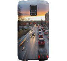 Memorial Drive Sunset Samsung Galaxy Case/Skin