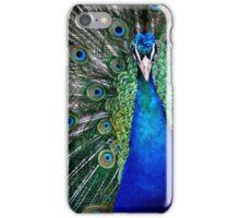 Peacock Close-Up iPhone Case/Skin
