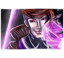 Gambit Headshot Poster