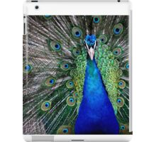 Peacock Close-Up iPad Case/Skin