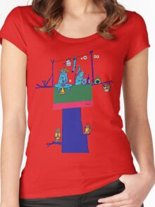 Sampath in the Guava Tree Women's Fitted Scoop T-Shirt