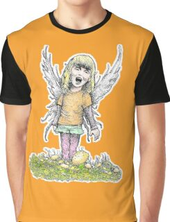 Lil Fairy Girl Graphic T-Shirt
