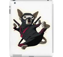 ninja chihuahua iPad Case/Skin