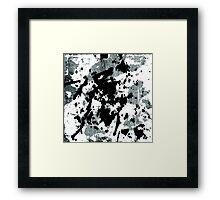 Ink Blot Framed Print