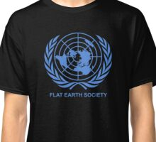 Flat Earth Society Classic T-Shirt