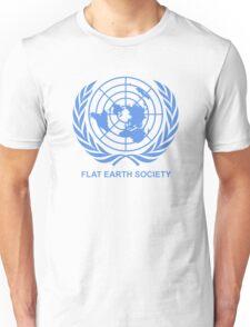 Flat Earth Society Unisex T-Shirt