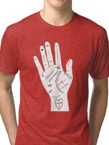 palm reader Tri-blend T-Shirt
