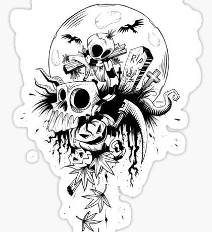 Samhain Scarecrow Sticker