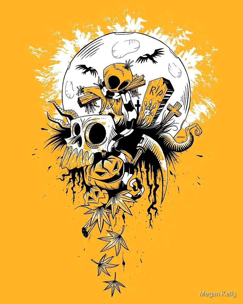 Samhain Scarecrow by Megan Kelly