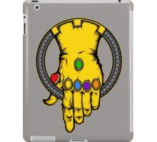 HAND OF THANOS iPad Case/Skin