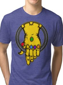 HAND OF THANOS Tri-blend T-Shirt