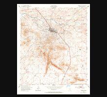 USGS TOPO Map Arizona AZ Tombstone 313757 1952 24000 Unisex T-Shirt