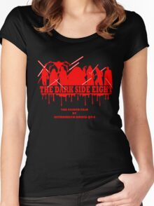 The Dark Side Eight Women's Fitted Scoop T-Shirt