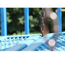 Playground Chain Photographic Print
