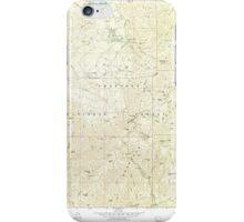 USGS TOPO Map Arizona AZ Groom Creek 311592 1974 24000 iPhone Case/Skin