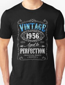 Vintage 1956 aged to perfection 60th birthday gift for men 1956 birthday Unisex T-Shirt