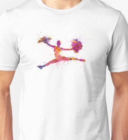 young woman cheerleader 01 Unisex T-Shirt