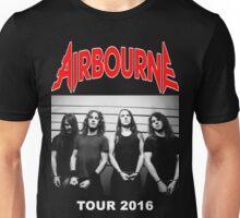 JOHN02 Airbourne Rock Band TOUR 2016 Unisex T-Shirt