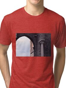 Arch and column from Genova. Tri-blend T-Shirt