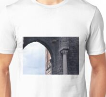 Arch and column from Genova. Unisex T-Shirt