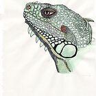 Iguana by MagsWilliamson