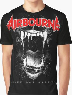 JOHN03 Airbourne Rock Band TOUR 2016 Graphic T-Shirt
