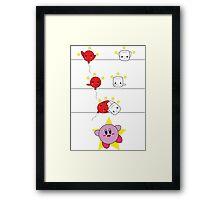 Kirby Fusion Framed Print