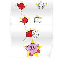 Kirby Fusion Poster