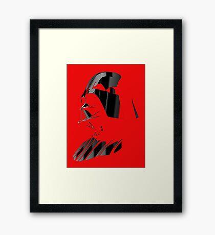 Sith Lord Framed Print