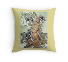 War Cry Throw Pillow