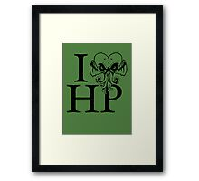 I LOVE(Craft) HP Framed Print