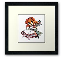 Anime Food Framed Print