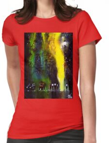 Rainy Evening Womens Fitted T-Shirt