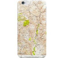 USGS TOPO Map Arizona AZ Turret Peak 315413 1929 125000 iPhone Case/Skin
