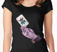 Joker Card Women's Fitted Scoop T-Shirt