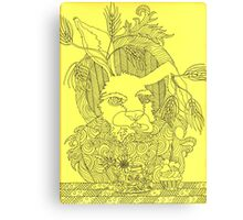 Truly Deeply Mad - The March Hare Canvas Print