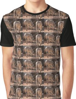 zebra in the forest Graphic T-Shirt