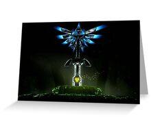 Sword Triforce Greeting Card