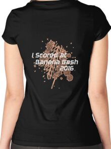 I Scored at Banana Bash 2016 Women's Fitted Scoop T-Shirt