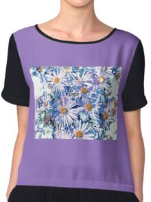 Purple Falicia Chiffon Top