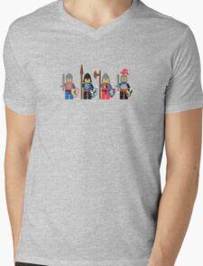 Classic Lego Castle Knights Mens V-Neck T-Shirt
