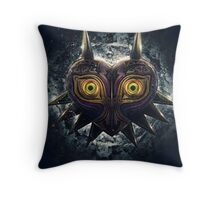 Evil Majora Throw Pillow