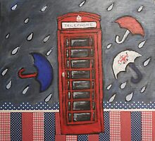 Rainy Day In London by AnnaBaria